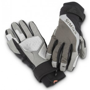 G4 Glove Dk Gunmetal L перчатки Simms - Фото
