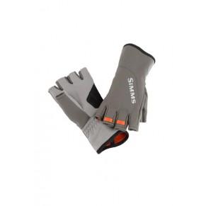 ExStream Half Finger Glove Dk Gunmetal L перчатки Simms - Фото