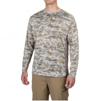 Tournament Series Fishing Shirt UPF 50 Marsh Camo L блуза Gillz