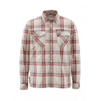 Kenai Shirt Ruby Plaid  L рубашка Simms...