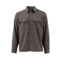 Coldweather Shirt Dark Olive M рубашка Simms