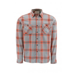 Black's Ford Flannel Shirt Orange M рубашка Simms - Фото