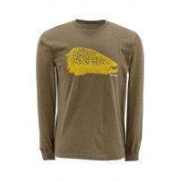 Kype Jaw T-Shirt Long Sleeve M кофта Simms...