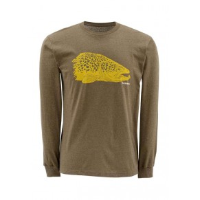 Kype Jaw T-Shirt Long Sleeve M, Simms - Фото