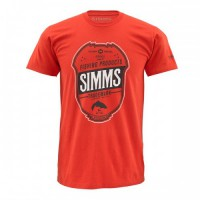 Trademark Fury Orange L футболка Simms