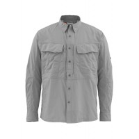 Guide Shirt Concrete S рубашка Simms