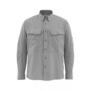 Guide Shirt Concrete XL рубашка Simms - Фото
