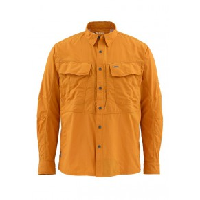 Guide Shirt Amber M рубашка Simms - Фото