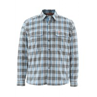Coldweather Shirt Tidal Blue Plaid L рубашка Simms