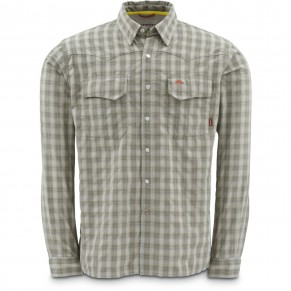 Big Sky Shirt Sagebrush Plaid L рубашка Simms - Фото