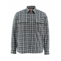 Coldweather Shirt Black Plaid XL рубашка Simms