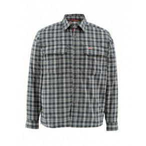 Coldweather Shirt Black Plaid XXL рубашка Simms - Фото