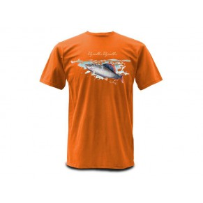 T-Shirt Weiergang Grayling Orange M футболка Simms - Фото