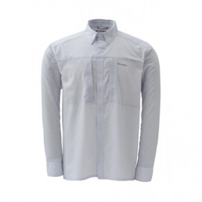 Ultralight Shirt Ash Grey M рубашка Simms - Фото