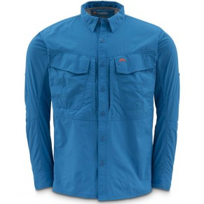 Guide Shirt Tidal Blue M рубашка Simms - Фото