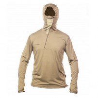 Hoody Polartec Power Dry Хаки M блуза Fahre...