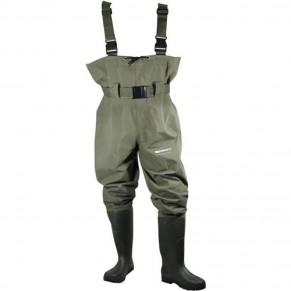 Waders PSS-W5 size M-9 забродный костюм Extreme Fishing - Фото