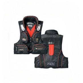 Marine Vest PX380KO c подголовником black/orange жилет Prox - Фото