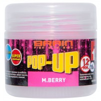 Pop-Up F1 M.Berry 12mm 15gr бойлы Brain