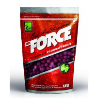 The Force Food Bait Boilie 15mm 1kg бойлы Rod Hutchinson