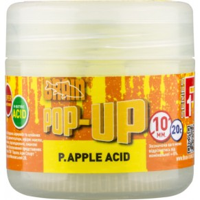 Pop-Up F1 P.Apple Acid 10mm 20gr бойлы Brain - Фото