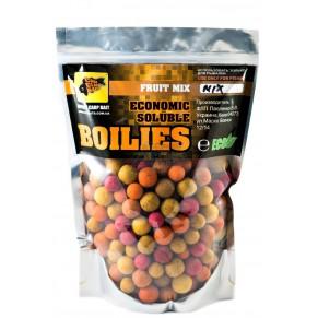 Economic Soluble Fruit Mix 16-24мм 1кг пылящие бойлы CC Baits - Фото
