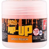 Pop-Up F1 Spice Peach 10mm 20gr бойлы Brain