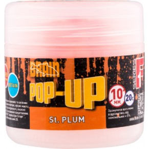 Pop-Up F1 St. Plum 10mm 20gr бойлы Brain - Фото