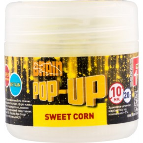 Pop-Up F1 Sweet Corn 10mm 20gr бойлы Brain - Фото