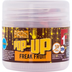 Pop-Up F1 Freak Fruit 10mm 20gr бойлы Brain - Фото