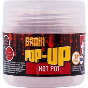 Pop-Up F1 Hot pot 10mm 20gr бойлы Brain - Фото
