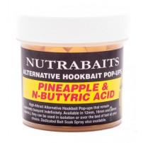 Pineapple & Butiric 12мм Pop-Ups плавающие желтые бойлы Nutrabaits
