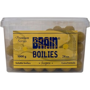 Scopex Soluble 1000gr 24mm бойлы Brain - Фото