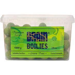 Green Peas Soluble 1000gr 24mm бойлы Brain - Фото