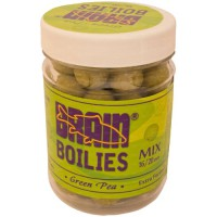 Green Peas Soluble 16mm, 20mm 200gr бойлы Brain