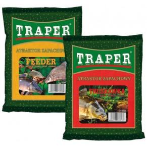Attractor 250gr клубника сухой аттрактант Traper - Фото