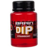 F1 Strawberry (клубника) 100ml дип для бойлов Brain