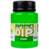 F1 Herbz (мята с чесноком) 100ml дип для бойлов Brain