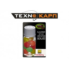 Texno Balls Cranberry Nutrabaits силиконовый шарик Texnokarp - Фото