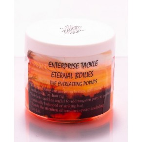 Eternal Boilies In Liquid - Mixed Fluoro Orange/Tutti Fruity & Peach наживка Enterprise Tackle - Фото