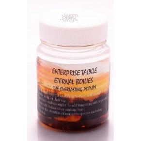 Eternal Boilies In Liquid - Mixed Brown/Crab & Garlic наживка Enterprise Tackle - Фото