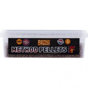 Method Pellets F1 400g 4mm пеллетс Brain - Фото