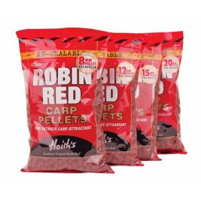 Robin Red Carp Pellets 6mm пеллетс Dynamite Baits - Фото