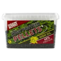 Carp pellets 1000gr 5-6mm пеллетс Brain