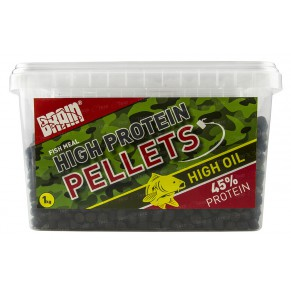 Carp pellets 1000gr 5-6mm пеллетс Brain - Фото