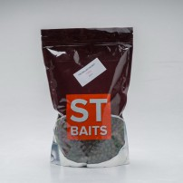 Pre Drilled Halibut Pellets 14mm 1kg пеллетс ST Baits
