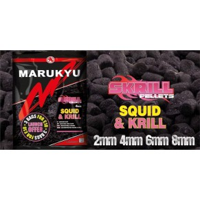 Skrill Pellets 4mm 800g пеллетс Marukyu - Фото