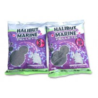 Halibut Marine Pre-Drilled Pellets 14.0mm 900g пеллетс Bait-Tech