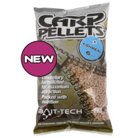 Halibut Carp Feed Pellets 6mm 2kg пеллетс Bait-tech
