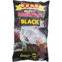 3000 Super Breame Black 1kg прикормка Sensas